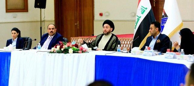عبد العزيز الحكيم: تحالف الإصلاح يؤسس لمشروع وطني كبير يمثل انتقالة مهمة للعملية السياسية