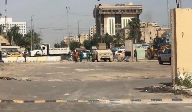 المرور: المباشرة بأعمال فتح طريق وسط بغداد مغلق منذ عام 1991