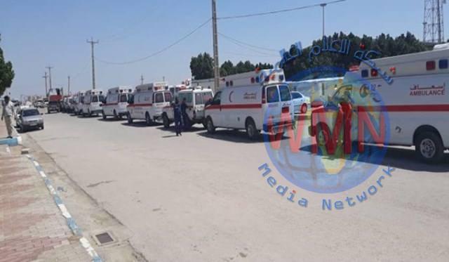400 طن من المساعدات العراقية تصل الى ايران