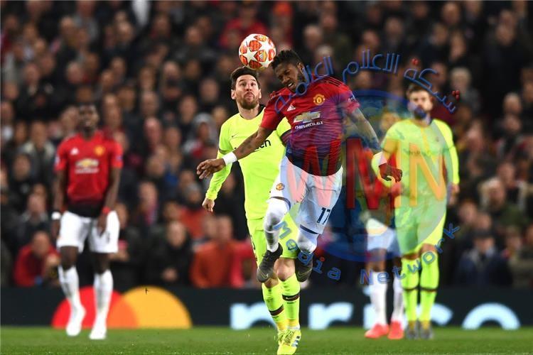 لاعبان من برشلونة وأربعة من اليونايتد مهددين بالايقاف في دوري الأبطال