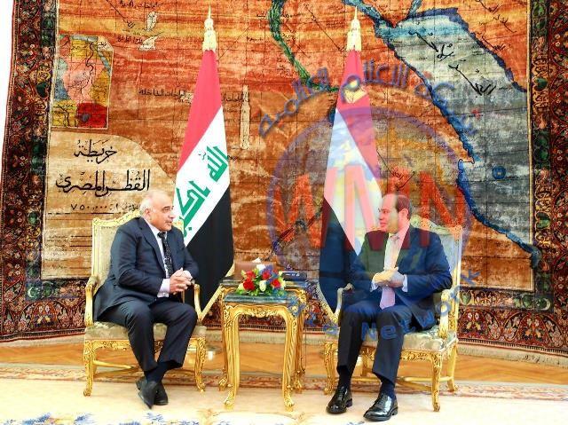 عبد المهدي يتصل بالسيسي ومسؤول مصري يكشف ما دار بينهما