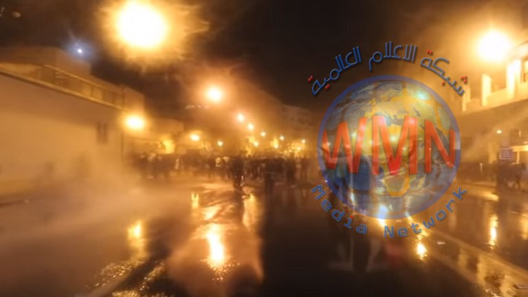الشرطة المغربية تفرق اعتصاما لالاف الاساتذة بخراطيم المياه