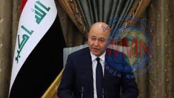 برهم صالح .. يؤكد اهمية اعتماد المهنية والحيادية في الاعلام العراقي