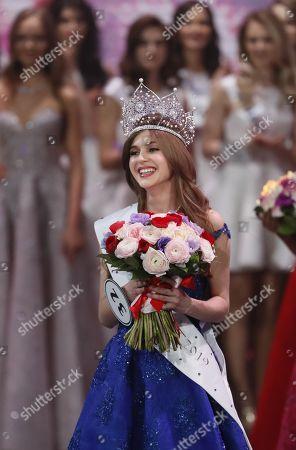 """لقب """"ملكة جمال روسيا 2019"""" للفاتنة ألينا سانكو"""
