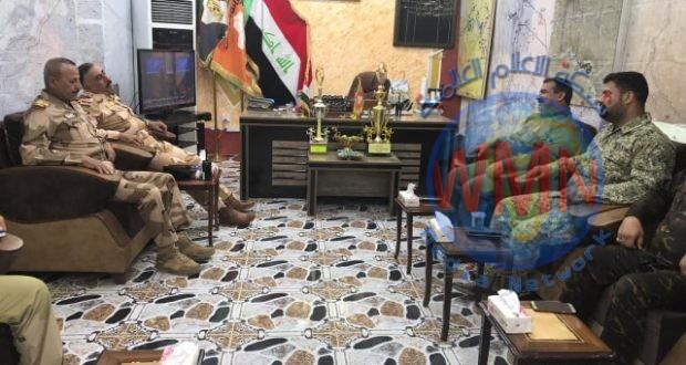 قيادات الحشد والقوات الأمنية تعقد اجتماعا موسعا لبحث الملف الأمني وحماية الحدود غرب الأنبار