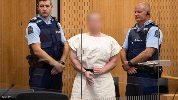 سفاح نيوزيلندا يواجه 50 اتهاما بالقتل