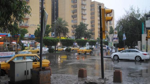 أمطار رعدية متوقعة تشمل بغداد وإرتفاع للحرارة