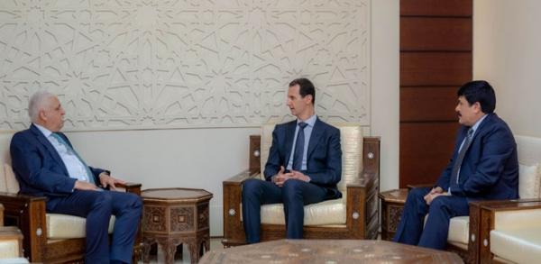 مسشار الأمن الوطني يلتقي الأسد في دمشق