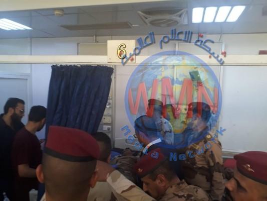 إصابة 20 جنديا بإنفجار عبوة ناسفة في الفلوجة(صور)