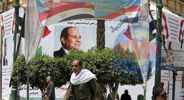 مصر.. بدء التصويت على التعديلات الدستورية التي تمنح السيسي سلطات واسعة
