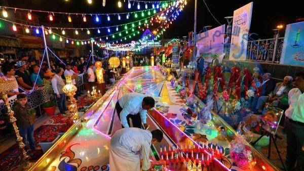 أكثر من 3 ملايين زائر يحيون ذكرى ولادة الإمام المهدي {ع} في كربلاء المقدسة