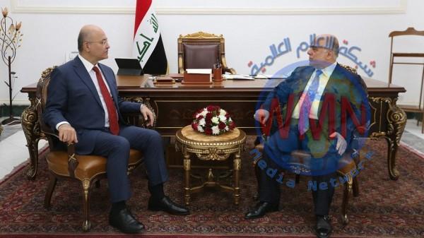 صالح والعبادي يؤكدان ضرورة نبذ الخلافات وتغليب المصلحة الوطنية