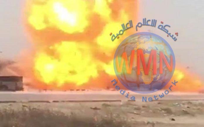 ما كانت طبيعة صوت الانفجار في غرب بغداد؟