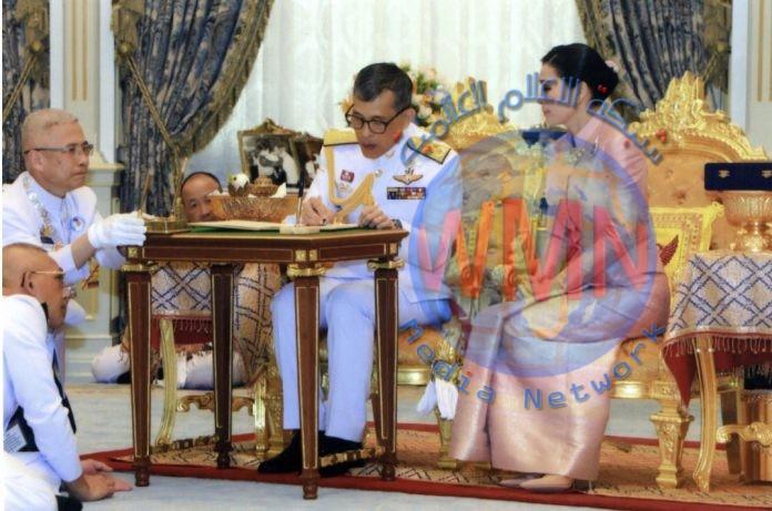 ملك تايلاند يتزوج حارسته الشخصية