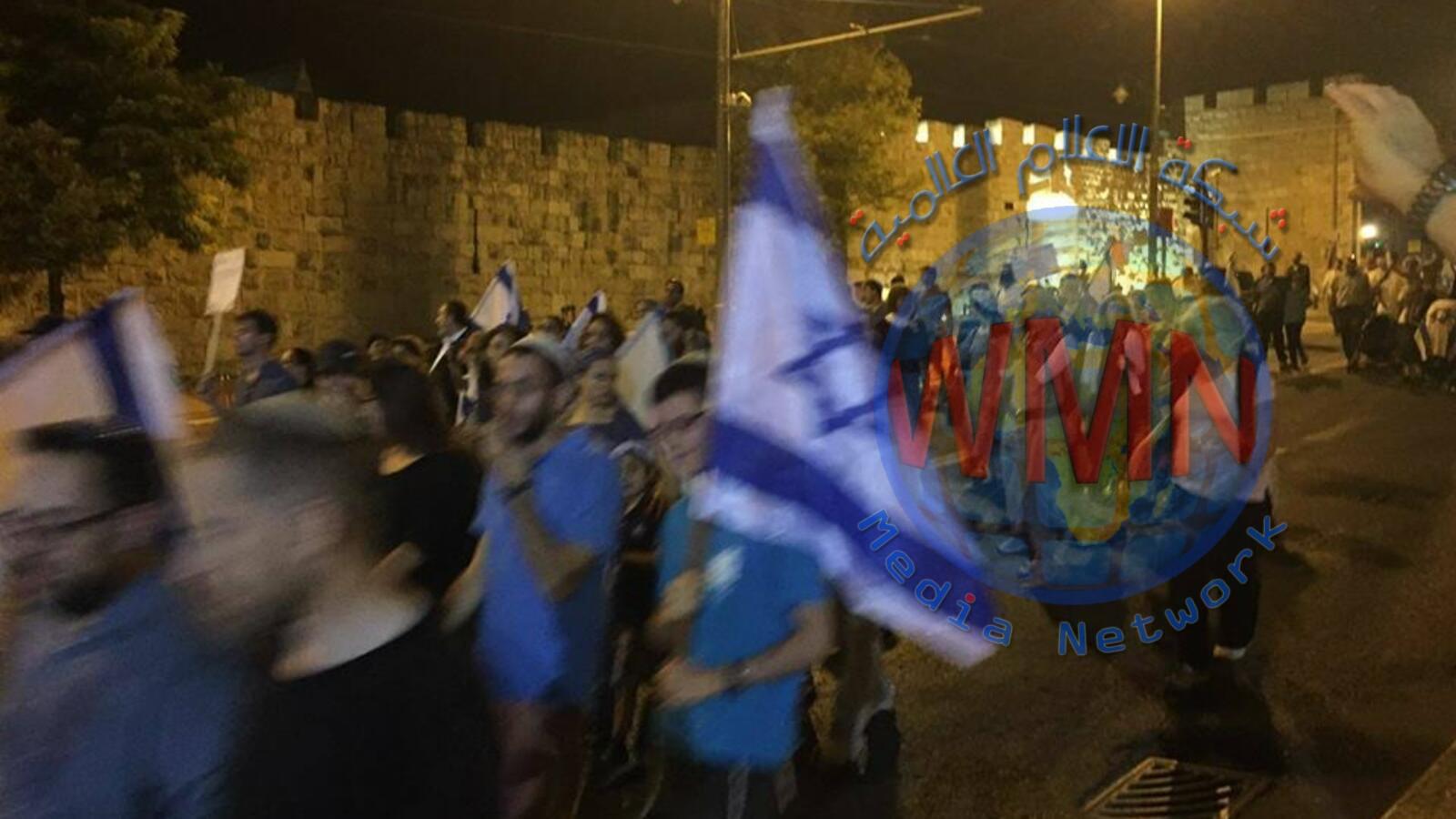 """مستوطنون يقتحمون بلدة """"كفل حارس""""بفلسطين المحتله"""