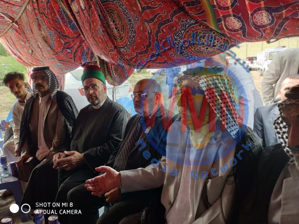 العتبة الحسينية المقدسة تساهم بحل خلاف بين عشيرتين استمر لعشر سنوات بسبب حادثة قتل