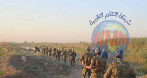 قوة من اللواء 43 في الحشد تصيب إرهابيا خلال عملية دهم وتفتيش جنوب قضاء بلد