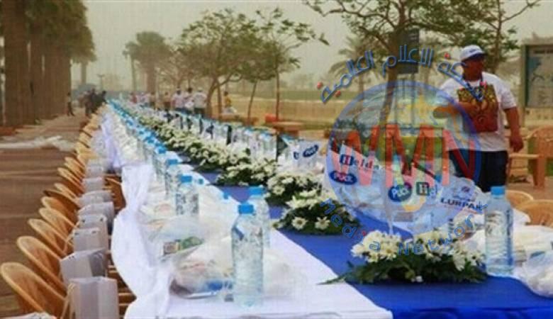 تركيا تنظم إفطار في المسجد الكبير بروما