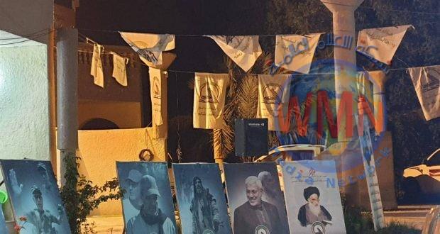 مكتب الحشد في الديوانية يستذكر الشهيد ابو وسام المطوكي ورفاقه