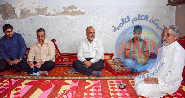 آمر اللواء الثامن والعشرين في الحشد يزور عوائل الشهداء ببغداد ويؤمن احتياجاتهم.
