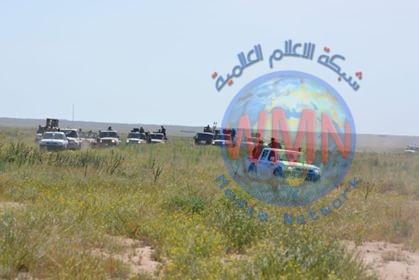 الحشد يطهر 10 قرى ومئات الكيلو مترات من الصحراء ضمن عملية الجزيرة