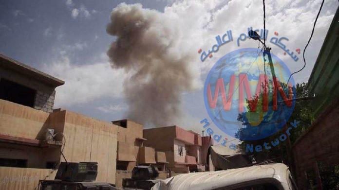 انفجار دراجة مفخخة بأيمن الموصل