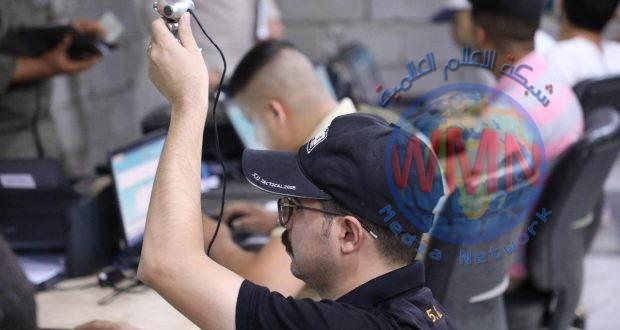 المديرية المالية للحشد الشعبي تباشر بتوطين رواتب اللواء السابع شرق الانبار (صور)