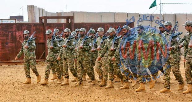 """اللواء 28 بالحشد يختتم دورته """" أصناف متعددة"""" في بابل"""