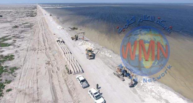 الهندسة العسكرية في الحشد تباشر بإعادة تأهيل شبكات ري محافظة الديوانية