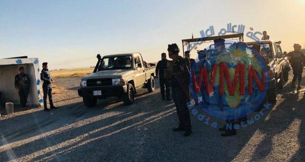 الحشد والاتحادية ينفذان عملية تفتيش في وادي محكور وجبل الغرة