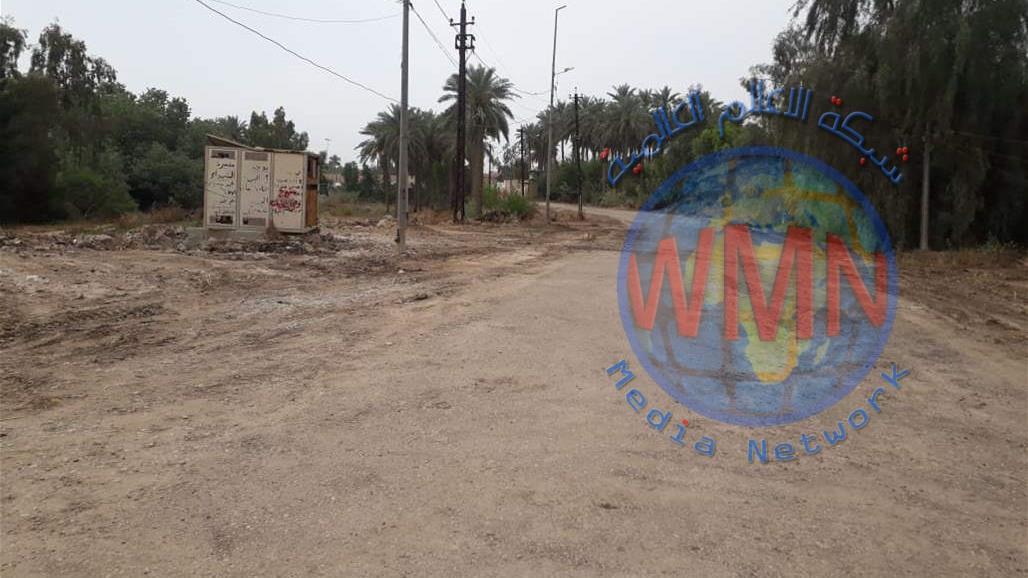 بالصور.. افتتاح شارع مغلق منذ 8 سنوات يربط جزيرة بغداد بطريق سريع