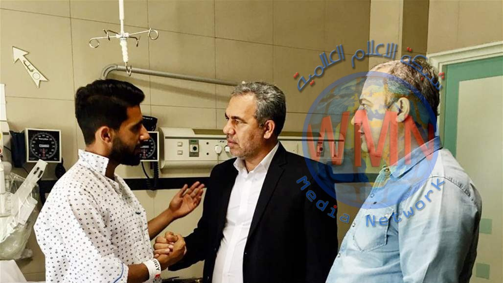 بيرسبوليس الايراني يصدر بياناً حول العملية الجراحية لنجمه العراقي