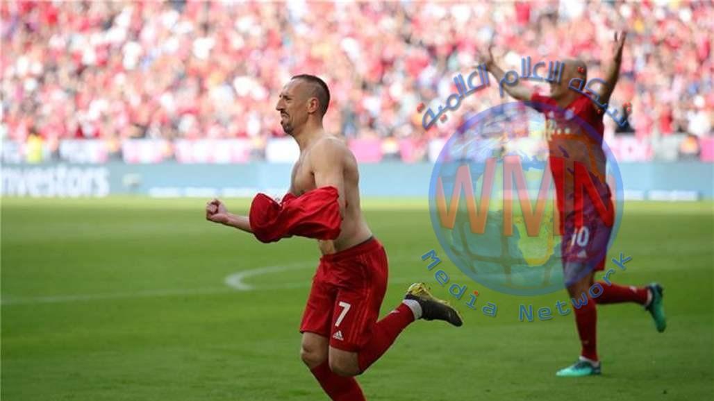 بايرن ميونخ بطلاً للدوري الالماني للمرة السابعة على التوالي