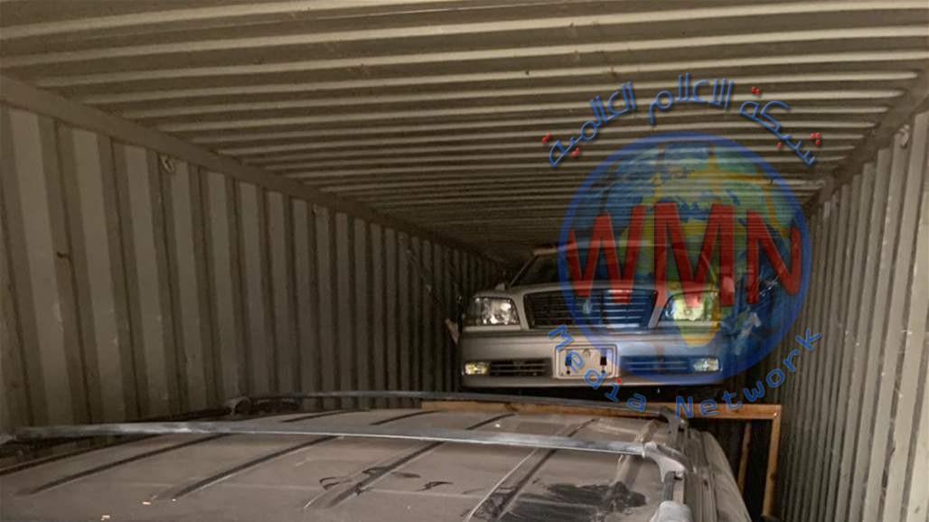 المنافذ تحبط تهريب اكثر من 80 عجلة دون الموديل في ميناء ام قصر