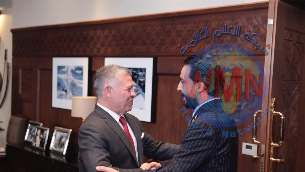 الحلبوسي يلتقي ملك الاردن والاخير يجدد موقف بلاده بدعم العراق