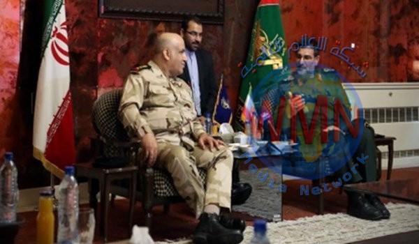 البحرية العراقية والحرس الثوري يبحثان اجراء مناورات مشتركة