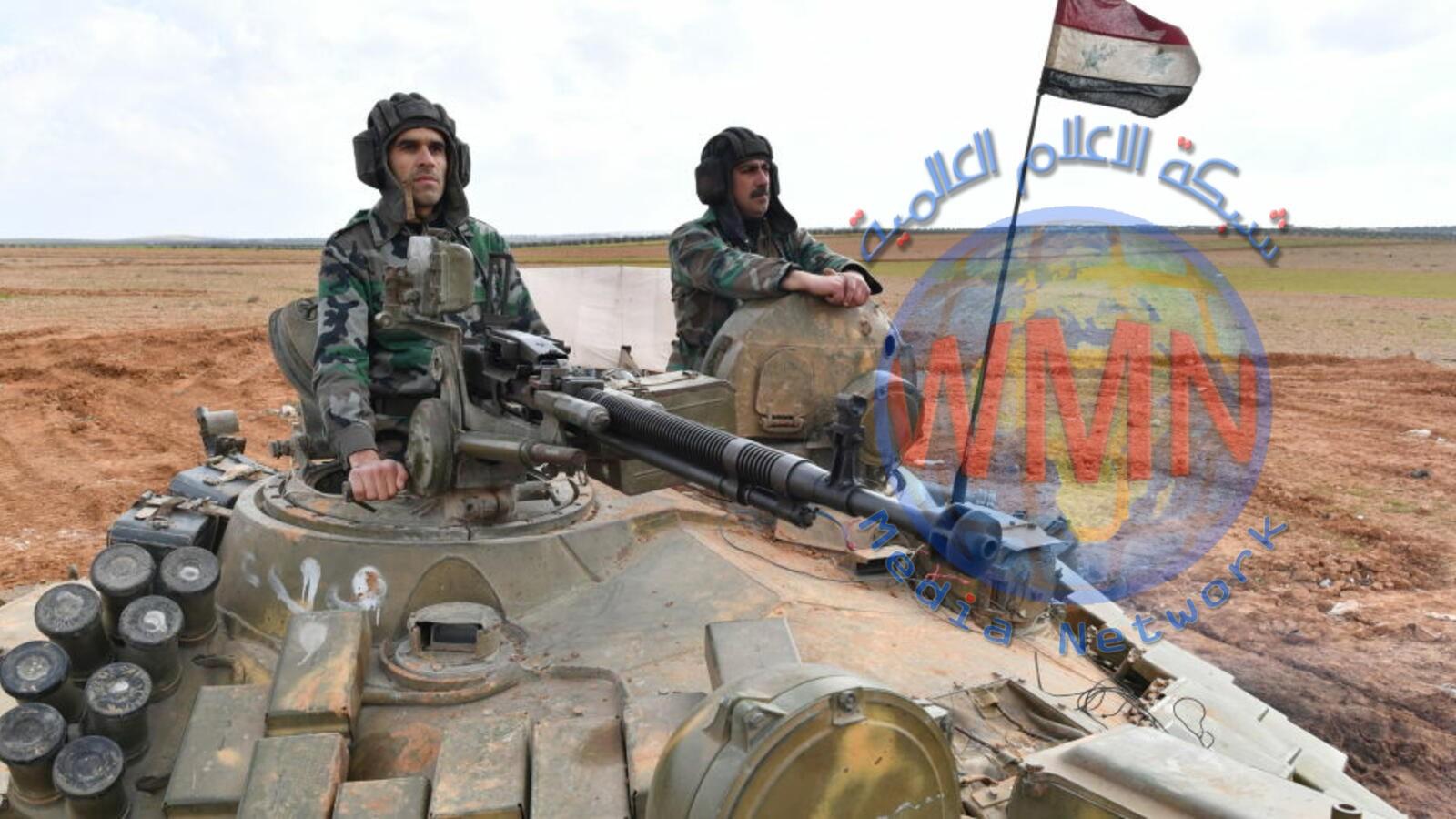 الجيش السوري يدخل أبرز معاقل المعارضة في ريف حماة الشمالي