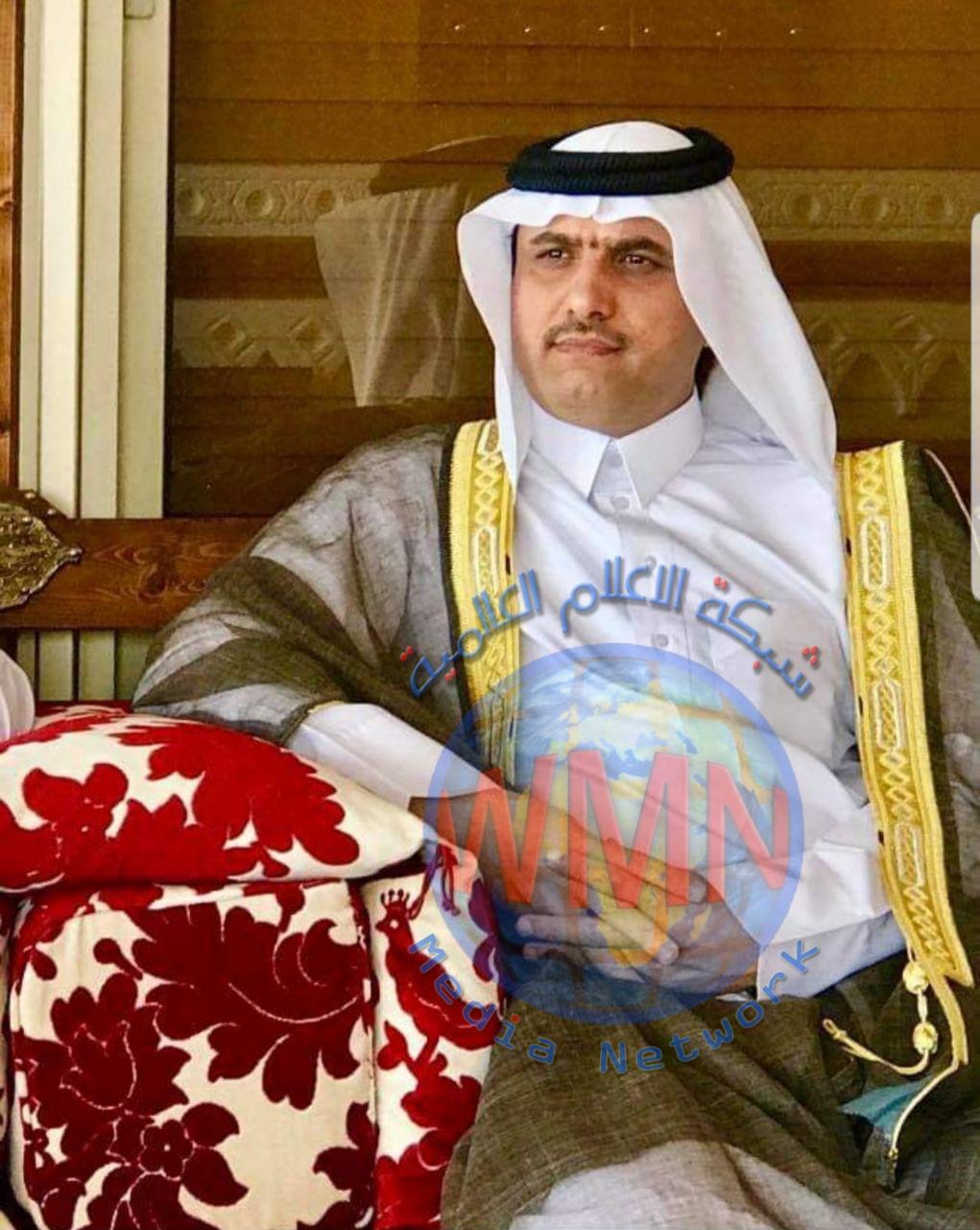 """شيخ عشيرة الصرايفيين في البصرة يعلن دعمه لحملة""""جرعة امل"""" الخاصة بدعم مرضى السرطان"""