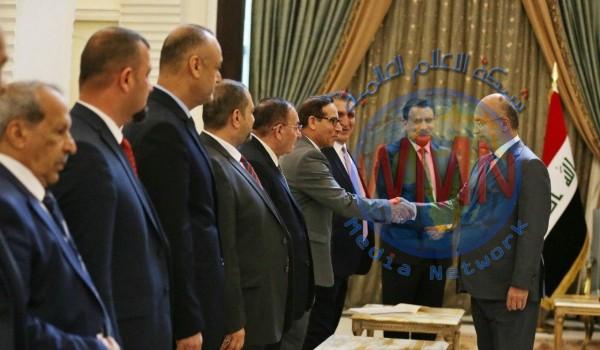 صالح: العراق دولة غنية وضرورة تفعيل القطاع الخاص