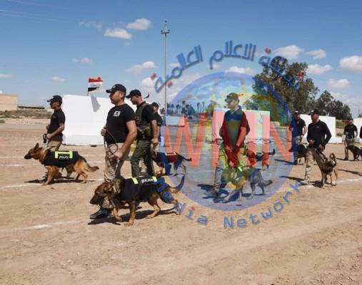 كشف هدر بـ 105 ملايين دينار في عقد شراء كلاب بوليسية لشرطة ديالى