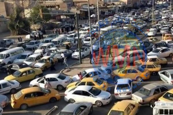 المرور تعلن إجراءاتها لفك زحامات بغداد وتلمح الى ترحيل سيارات