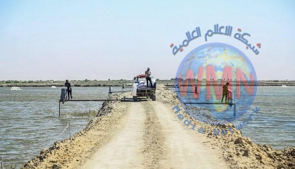 العتبة الحسينية تشرع بتنفيذ أحد أكبر مشاريع تربية الأسماك