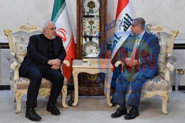 ظريف يثمن مواقف العراق الرامية لتهدئة أوضاع المنطقة وتجنب التصعيد