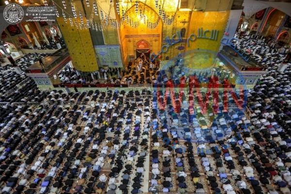 ملايين الزائرين يحييون شهادة الإمام علي {ع} في النجف