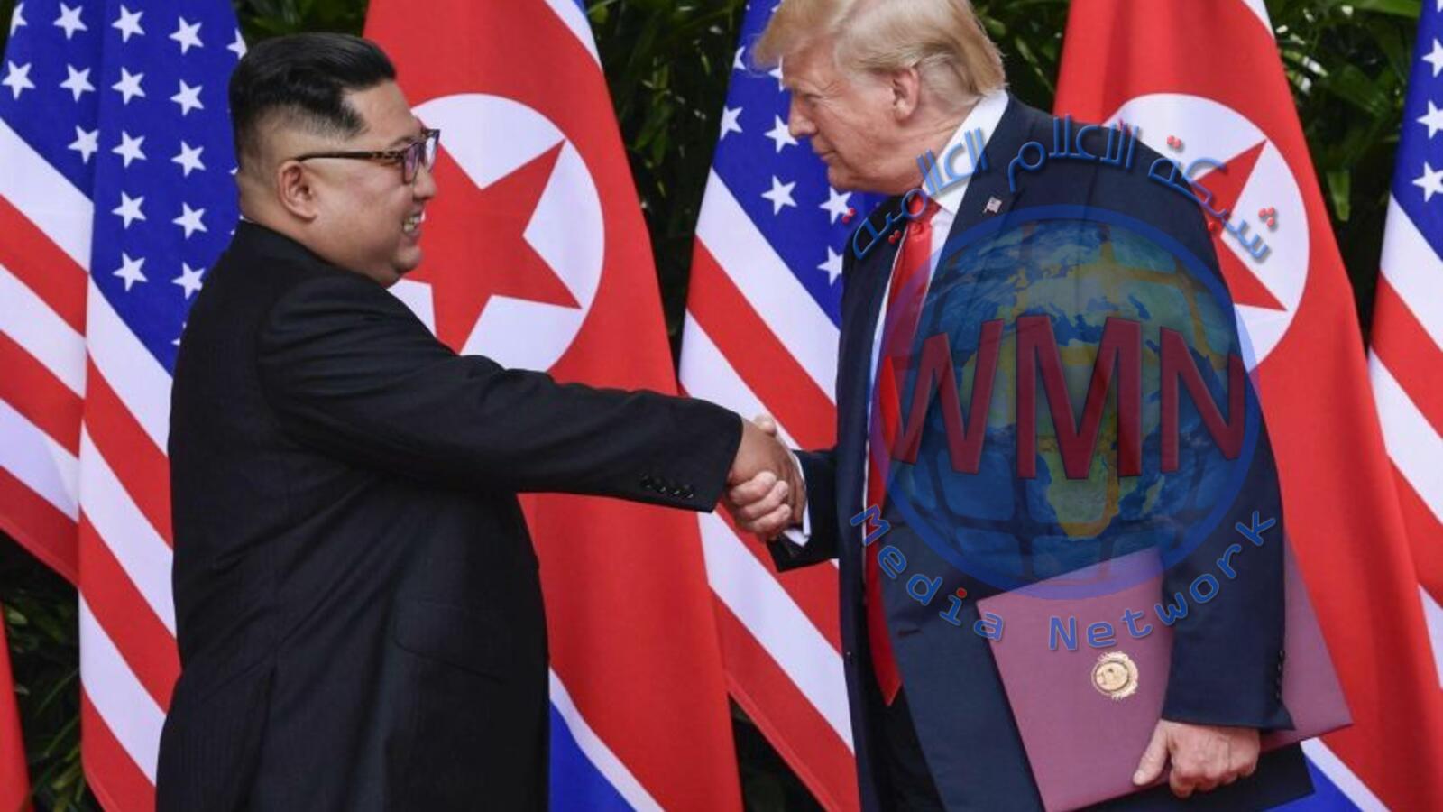 لقاء بين ترامب وكيم بالمنطقة منزوعة السلاح بين الكوريتين