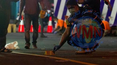 إصابة إندونيسي حاول تفجير نفسه خارج مركز شرطة