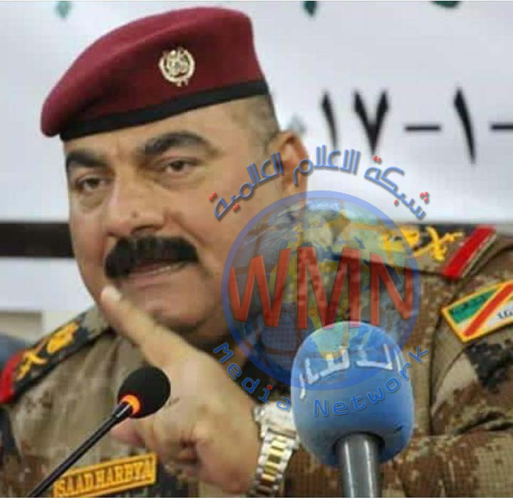 اللواءالركن سعد حربية يهنىء اللامي لمناسبة فوزه بعضوية المكتب التنفيذي للأتحاد الدولي للصحفيين
