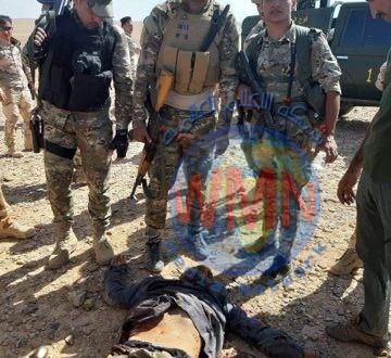 """الحشد الشعبي يقتل عددا من """"الدواعش"""" في الصحراء الغربية للانبار"""