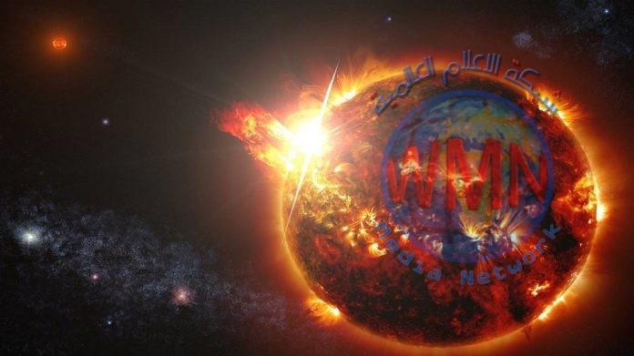 تسجيل انبعاث كميات ضخمة من البلازما من تاج نجم بعيد
