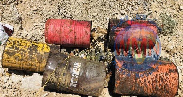 الحشدالشعبي والقوات الأمنية تعثران على مخبئ للأسلحة غرب تلعفر